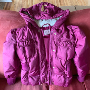 Juicy Couture Girls Short Down Jacket